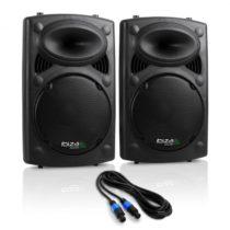 """Ibiza Pár PA reproduktorov SLK 2 x 25 cm, (10"""") master/slave, 900 W, USB, SD, MP3"""