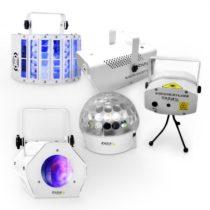 "Ibiza set LED svetelných efektov ""White Light Party II"""