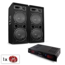 "Electronic-Star PA Set ""Malone SPL Bluetooth MP3"" pár 2x12"" reproduktor &..."