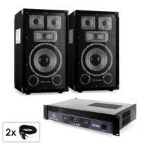 "Electronic-Star PA set série Saphir ""Warm Up Party TX8"", dva 20 cm reproduktory a ..."
