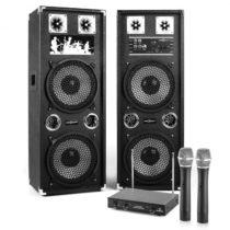 "Electronic-Star Karaoke Set ""STAR-210A"" PA reproduktory, bezdrôtový mikrofón, 1200..."
