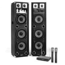 """Electronic-Star Karaoke zostava """"STAR-238A"""" Pa reproduktory a Mikrofónový set1400W"""
