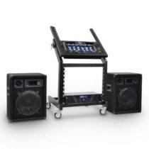 "Electronic-Star DJ PA sada Rack Star Series ""Mercury Beat"", 250 osôb"