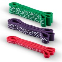 Capital Sports Resistor Set, rezistenčný elastický pás, podpora pri zhyboch, 3 kusy, stupeň záťaže 2...