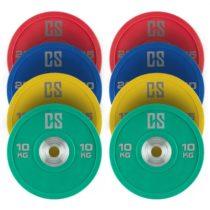 Capital Sports Performan Full Set, kotúčové závažia, 4 páry, 10 – 25 kg
