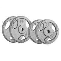Capital Sports IP3H 30 kg Set, sada závaží na činky, 2 x 5 kg + 2 x 10 kg, 30 mm