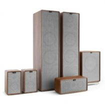 Numan Retrospective 1977 MKII 5.1 soundsystém orech vrátane sivého krytu