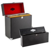 Auna Vinyl Collector odkladací a čistiaci set kufrík na platne