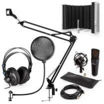 Auna MIC-920B USB mikrofónová sada V5 slúchadlá, mikrofón, mikrofónové rameno , pop filter, mikrofón...