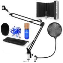 Auna CM001BG mikrofónová sada V5 kondenzátorový mikrofón, mikrofónové rameno, pop filter, mikrofónov...