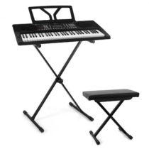 SCHUBERT Schubert Etude 300, set keyboard + stojan na klávesy + stolička, čierna