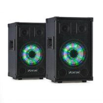 """Fenton TL8LED, sada zariadení, 2 x 3-pásmový pasívny reproduktor, RGB LED, 8"""" woofer, 400 W"""