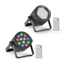 Beamz PLS15 sada V7, LED stroboskop PLS25, Par LED reflektor