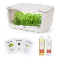 Klarstein GrowIt Farm Starter Kit Salad, 28 rastlín, 48 W, 8 l, semená Salad Seeds, živný roztok