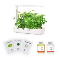 Klarstein Growlt Flex Starter Kit Salad, 9 rastlín, 18 W, LED, 2 l, šalátové semienka, výživový rozt...