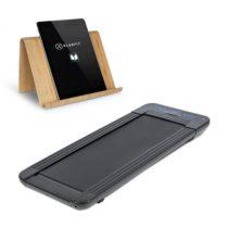 Klarfit Workspace GoLight, bežecký pás a držiak na tablet, 350 W, 0.8 - 6 km/h, čierny