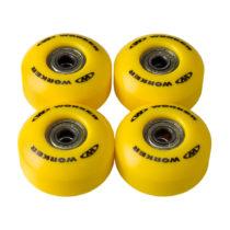Kolieska na skateboard WORKER 50*30mm vr. ložísk ABEC 5