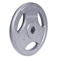 Oceľový olympijský kotúč inSPORTline Hamerton 25 kg