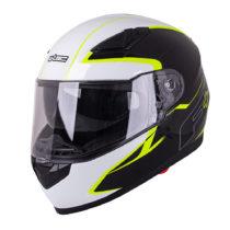 Moto prilba W-TEC FS-816 Black-Fluo Yellow