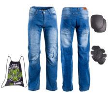 Pánske moto jeansy W-TEC Davosh