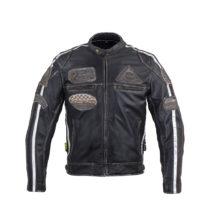 Pánska kožená moto bunda W-TEC Sheawen Vintage
