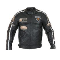 Pánská kožená moto bunda W-TEC Sheawen