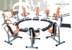 Set 10. strojov Kruhový tréning Hydraulicline - čierna