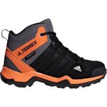 adidas TERREX AX2R MID CP K šedá 35 - Detská outdoorová obuv