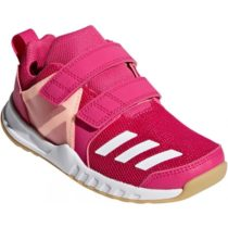 adidas FORTAGYM CF K ružová 34 - Detská športová obuv