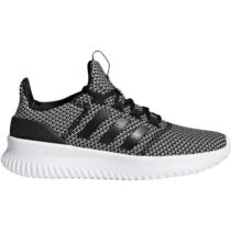 adidas CLOUDFOAM ULTIMATE tmavo sivá 35 - Detská obuv na voľný čas