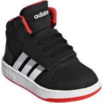 adidas HOOPS MID 2.0 I čierna 24 - Detská zimná obuv