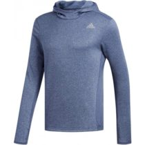 adidas RS HOODIE M modrá S - Pánske tričko s kapucňou
