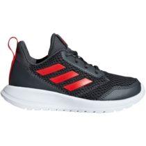 adidas ALTARUN K tmavo sivá 3.5 - Detská bežecká obuv