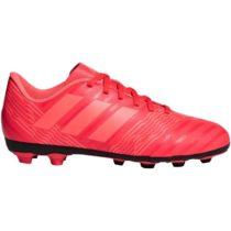 adidas NEMEZIZ 17.4 FxG J červená 3.5 - Detská futbalová obuv