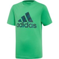 adidas BOS zelená 128 - Chlapčenské tričko