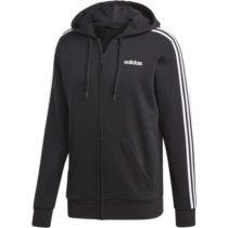 adidas E 3S FZ FT čierna 2XL - Pánska mikina s kapucňou