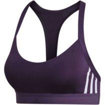 adidas ALL ME 3S fialová S - Dámska športová podprsenka