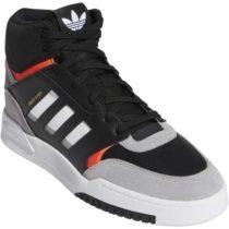 adidas DROP STEP čierna 9.5 - Pánska členková obuv