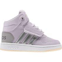 adidas HOOPS MID 2.0 I fialová 22 - Detská voľnočasová obuv