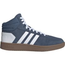 adidas HOOPS 2.0 MID modrá 10.5 - Pánska členková obuv