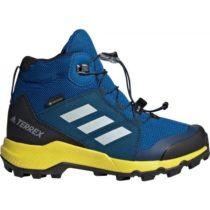 adidas TERREX MID GTX K modrá 32 - Detská outdoorová obuv