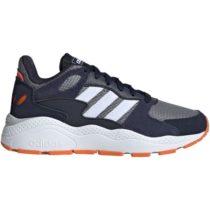 adidas CRAZYCHAOS J tmavo modrá 3.5 - Detská voľnočasová obuv