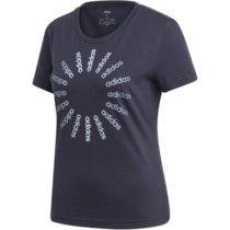 adidas CRCLD T 1 modrá XL - Dámske tričko