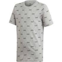 adidas YB CF TEE šedá 164 - Chlapčenské tričko