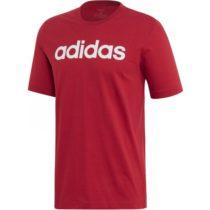 adidas E LIN TEE červená XL - Pánske tričko