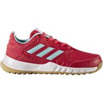 adidas FORTAGYM K červená 28 - Detská halová obuv