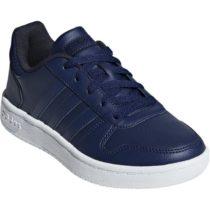 adidas HOOPS 2.0K tmavo modrá 32 - Chlapčenská voľnočasová obuv