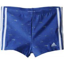 adidas I 3S BX PR Y modrá 128 - Chlapčenské plavky