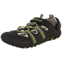 ALPINE PRO BELLEVO čierna 37 - Detská letná obuv