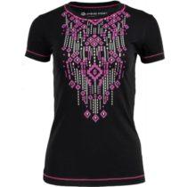 ALPINE PRO CHATHAMA 2 čierna M - Dámske tričko